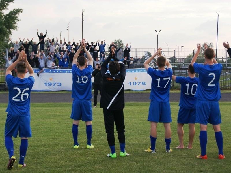 Piłkarze Stali Mielec pokonali Orła Przeworsk 3-1.