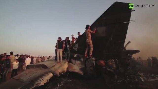 Libijskie siły rządowe zestrzeliły myśliwiec rebeliantów