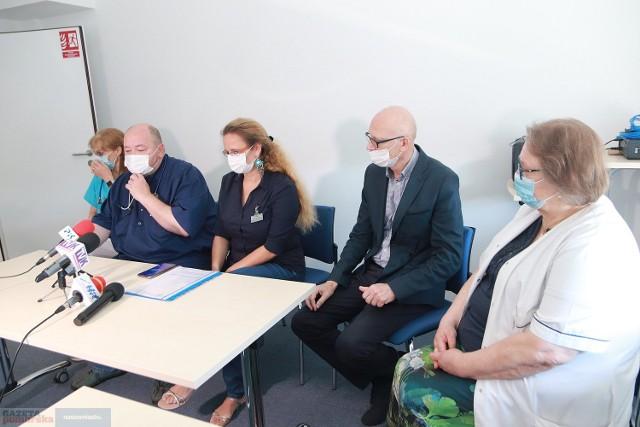 29 lipca - na konferencji prasowej - kierownicy włocławskiego szpitala opowiedzieli o problemach kadrowych, z jakimi boryka się lecznica