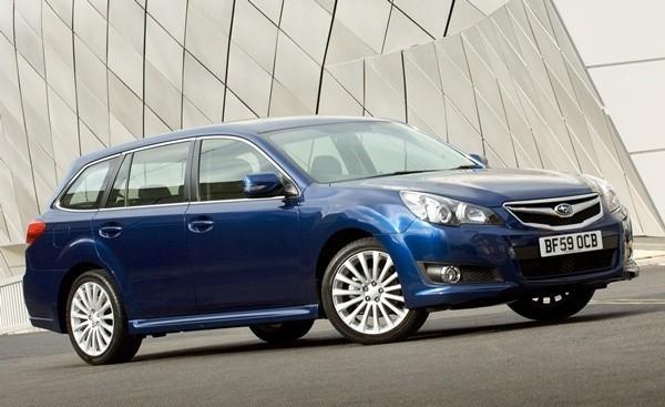 Subaru Legacy, jeden z najbezpieczniejszych aut klasy średniej według IIHS.