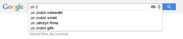 Pytania do Google'a. Zobacz, co odpowiada