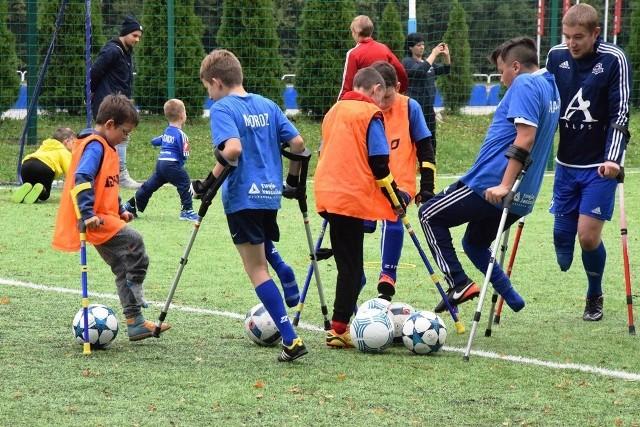 Amp Futbol Junior Camp w Bielsku-Białej