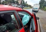 Wypadek dwóch samochodów na al. Piastów. To niebezpieczna aleja- mówią mieszkańcy (ZDJĘCIA)