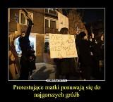 Najzabawniejsze hasła z protestów przeciwko zakazowi aborcji. Protestującym nie brakuje kreatywności