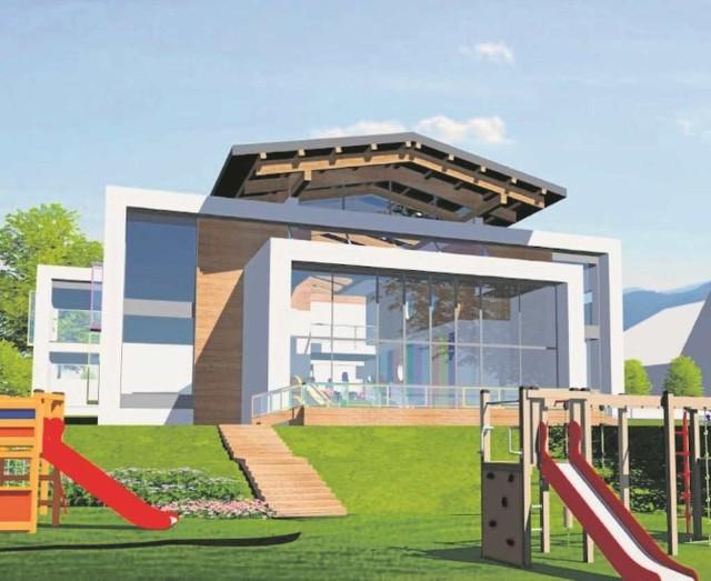 Budowa przedszkola w Sieprawiu to priorytet wójta tej gminy