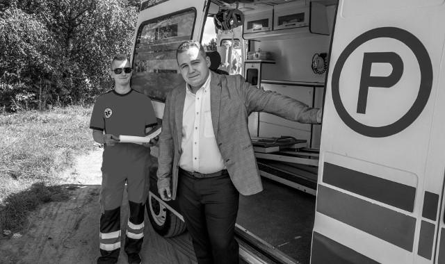 Daniel Kulesza nie żyje. To założyciel i prezes SRP MEDIVAL Białystok