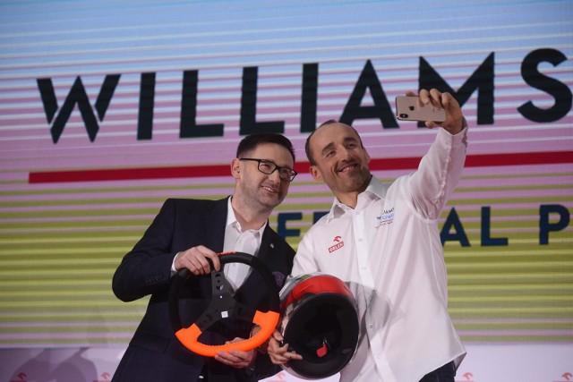 Robert Kubica cieszy się z powrotu do F1