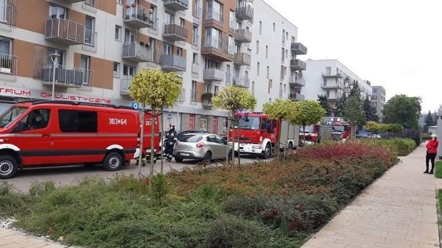 Służby zostały powiadomione o niebezpiecznym pakunku podłożonym przy ul. Zakładowej