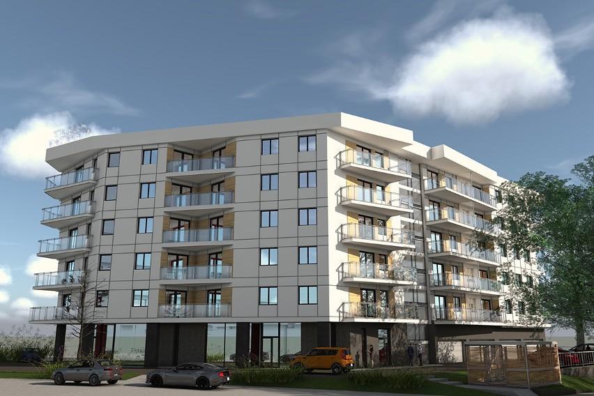 Tak ma wyglądać nowy blok mieszkalny przy ulicy Struga 60...