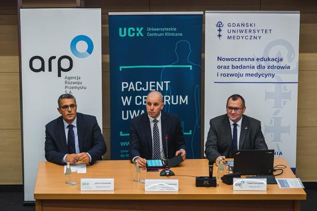 Konferencja w sprawie restrukturyzacji UCK, Gdańsk 23.09.2019
