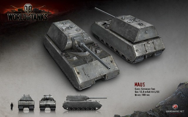 PzKpfw VIII MausPzKpfw VIII Maus w grze World of Tanks