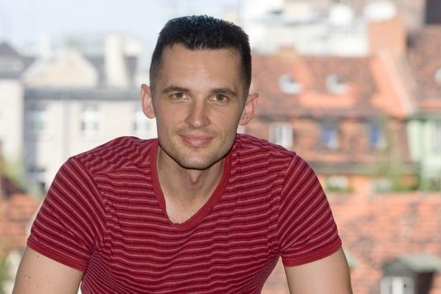 24.07.2012 wroclaw wojtek koerber szef dzialu sportu ..janusz wojtowicz / polskapresse gazeta wroclawska