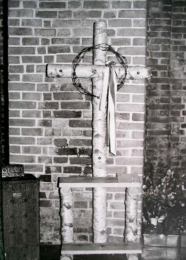Zaginął krzyż internowanych w Strzebielinku