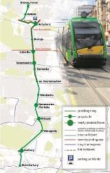 Tramwaj na Naramowice: Budowę mogę połączyć z tworzeniem dróg