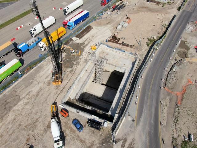 Stan prac budowy tunelu pod Świną