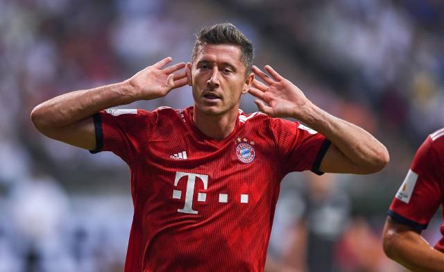 Eintracht - Bayern 0:5. Trzy gole Lewandowskiego