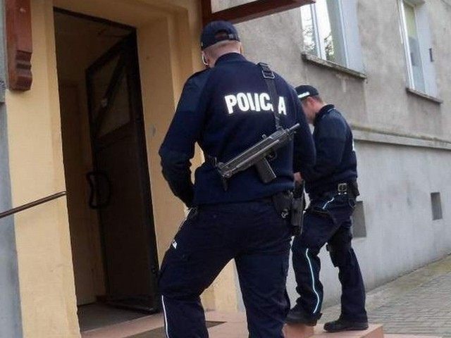 64-latek został zatrzymany przez policjantów z Pyrzyc.