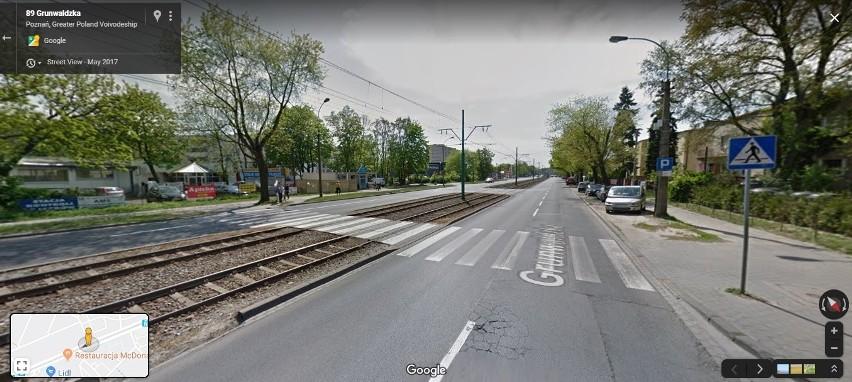 Przejście na ul. Grunwaldzkiej, przy skrzyżowaniu z...