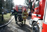 Pożar przy Parafialnej. Poparzony trzydziestolatek w szpitalu