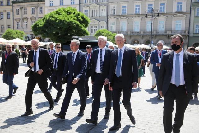 Wicepremier Jarosław Gowin pojawił się w Krakowie