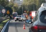 Wypadek na autostradzie A4 w Katowicach. 5 aut się zderzyło. Duże utrudnienia w kierunku Wrocławia