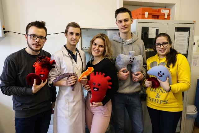 Uczniowie z Bielska-Białej promują transplantacje narządów.Zobacz kolejne zdjęcia. Przesuwaj zdjęcia w prawo - naciśnij strzałkę lub przycisk NASTĘPNE