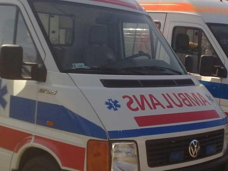 Wypadek na dk 61 w Marianowie. Zderzyły się tiry