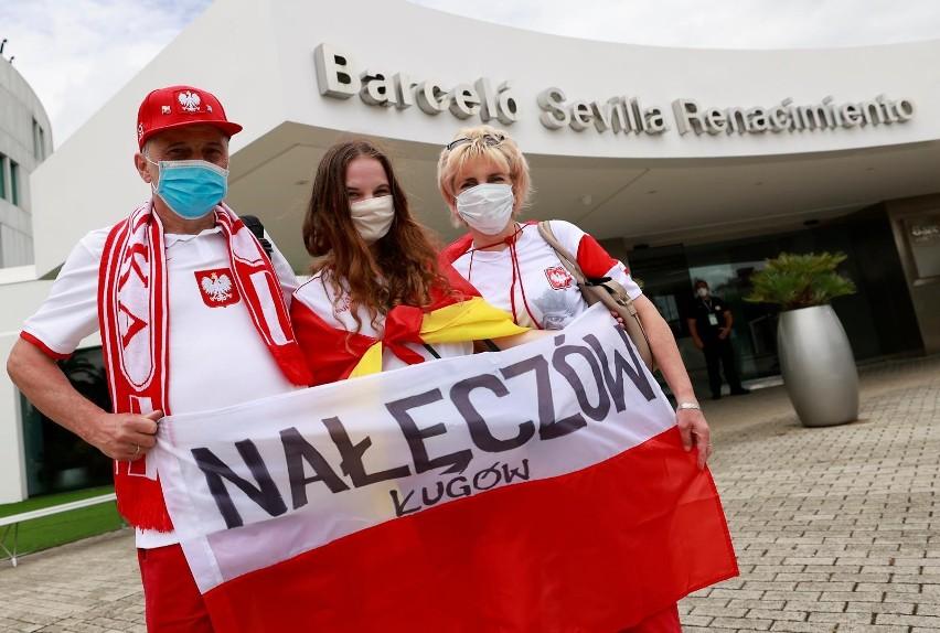 Rodzina z Nałęczowa, która przy okazji meczu przyjechała na...