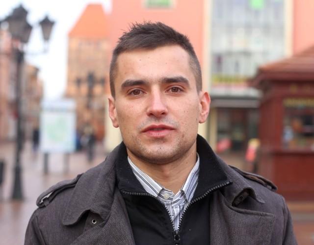 Michał Marciniak mówi, że bez wahania zadzwonił do konserwatora zabytków w Gdańsku