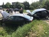 Dwa samochody zderzyły się na ulicy Prószkowskiej w Opolu. Jedna osoba poszkodowana
