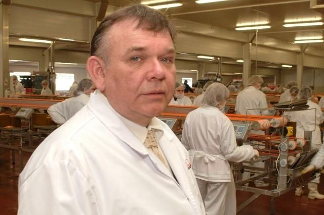 Szef Morpolu Jerzy Malek uważa, że ludzie powinni pracować po 12 godzin, bo są duże zamówienia.