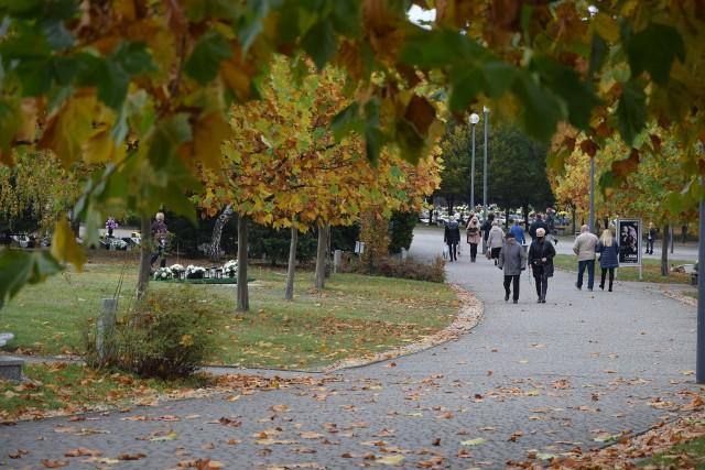 Cmentarz Komunalny w Częstochowie, 30 października 2020 roku