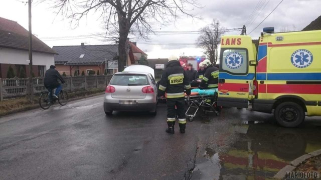 Wypadek w Tarnowie Opolskim