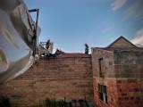 Nawałnica w Wołczynie i Byczynie. Zerwane dachy i linie energetyczne, powalone drzewa [ZDJĘCIA]
