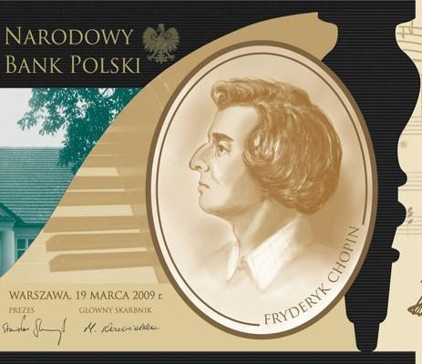 Tak wygląda nowy polski banknot z Chopinem