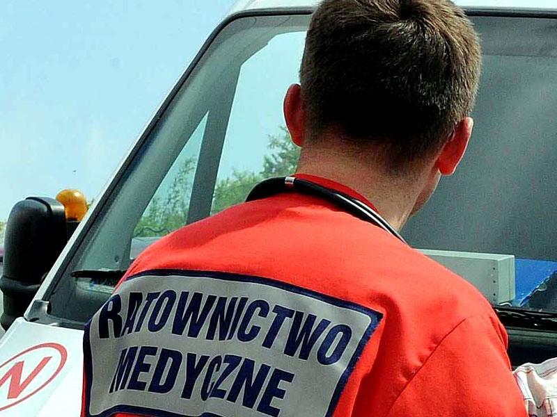W Gorejowicach zawalił się dach. Przygnieciony pracownik