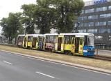Tramwaje nie jeżdżą na Pilczyce i do Leśnicy przez złamany pantograf