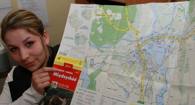 - Mapa jest bardzo dokłada i co równie ważne, aktualna – zapewnia Monika Juszczak z magistratu.