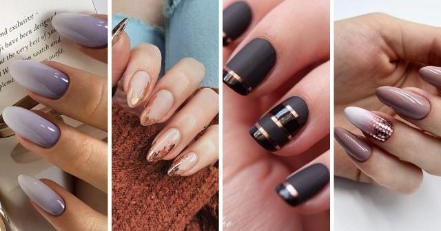 Zobacz eleganckie paznokcie hybrydowe - modne wzory i kolory.