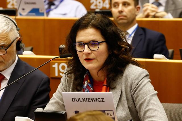 Aleksandra Dulkiewicz w Brukseli: - Dla wielu Polaków temat praworządności, podstawowych zasad przestrzegania prawa, niezawisłości i niezależności sędziowskiej jest wielkim zmartwieniem i troską.