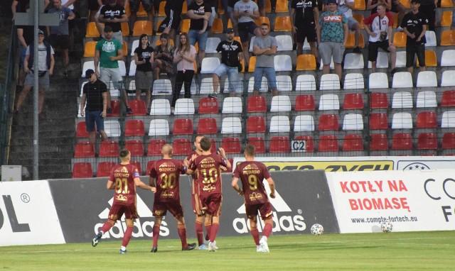 Chojniczanka udanie zainaugurowała sezon. W meczu I rundy Fortuna Pucharu Polski pokonała Olimpię Elbląg 1:0.