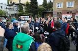 Mieszkańcy Baranówka w Kielcach protestują. Nie chcą inwestycji dewelopera, która zniszczy charakter osiedla [ZDJĘCIA]