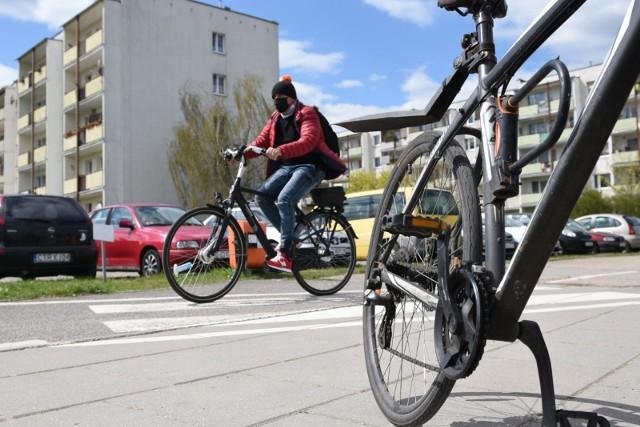 W Toruniu na ulicach można spotkać coraz więcej rowerzystów