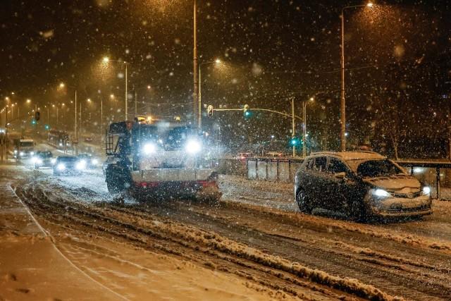 Śnieżyca na Pomorzu. Kolejne intensywne opady śniegu