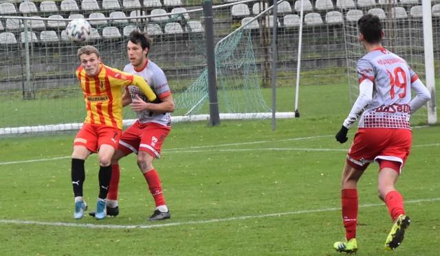 Korona II Kielce przegrała z Klubem Sportowym Wiązownica 3:4.