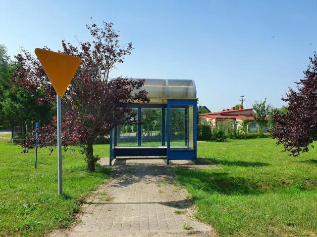 W Błądzikowie znajduje się przystanek autobusowy, lecz służy on bardziej za pamiątkę po komunikacji publicznej. Wykorzystywany jest jedynie w roku szkolnym.