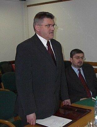 Byłem inicjatorem przebudowy drogi numer 42 - powiedział prezydent Ostrowca Jan Szostak.
