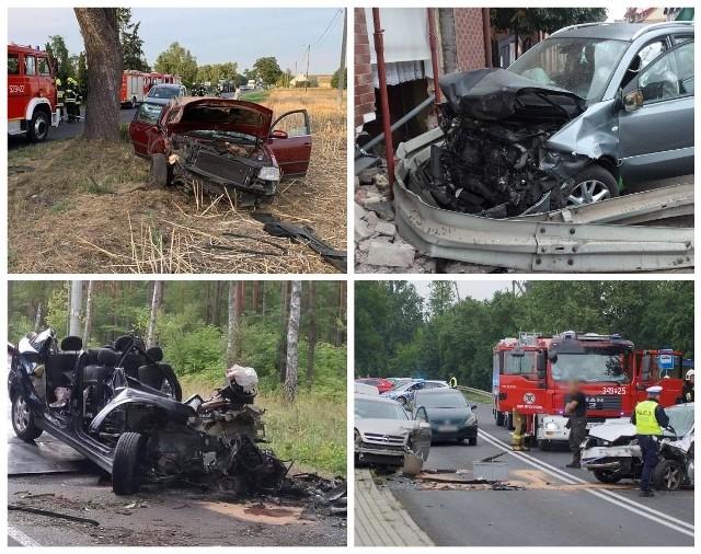 Każdego miesiąca na wielkopolskich drogach dochodzi do wielu wypadków. Według policyjnych statystyk w sierpniu w województwie wielkopolskim doszło do 233 wypadków. Zginęły 24 osoby, a 292 zostały ranne. Natomiast w lipcu doszło do 227 wypadków i 2555 kolizji. Zginęło 21 osób, a 263 zostało rannych. W galerii przedstawiamy przegląd wypadków z sierpnia 2021 roku.Przejdź dalej --->