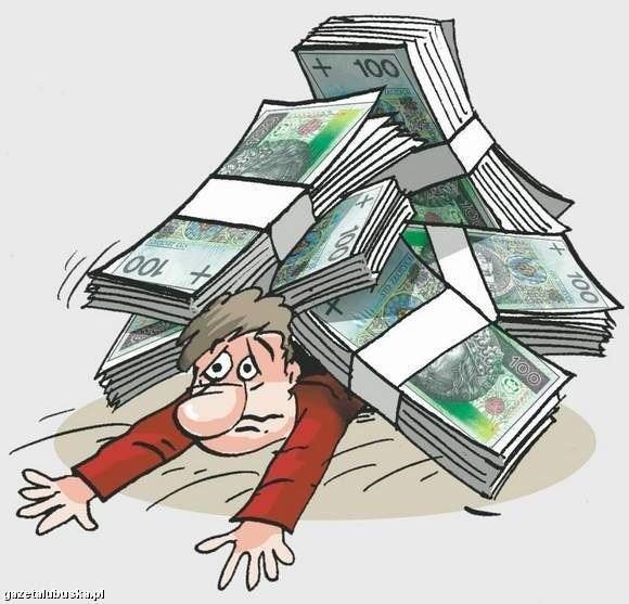 Prawie 35 proc. zadłużonych przyznaje, że zaciągało nowe pożyczki na spłatę starych. To najszybsza metoda zaciśnięcia sobie na szyi tzw. pętli zadłużenia! (rys. Tomasz Wilczkiewicz)