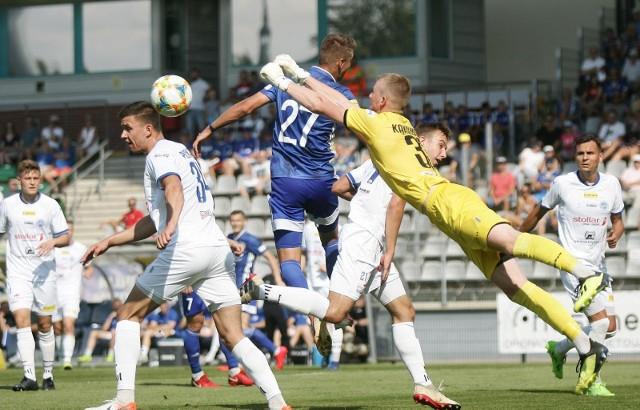 Gdyby sezon I ligi zakończył się po 22. kolejce Wigry Suwałki zaliczyłyby spadek.
